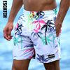 Board Shorts Men Swimwear Quick Dry Flower Fashion Sport Plus Size Brand Short Mens Surfing Beachwear