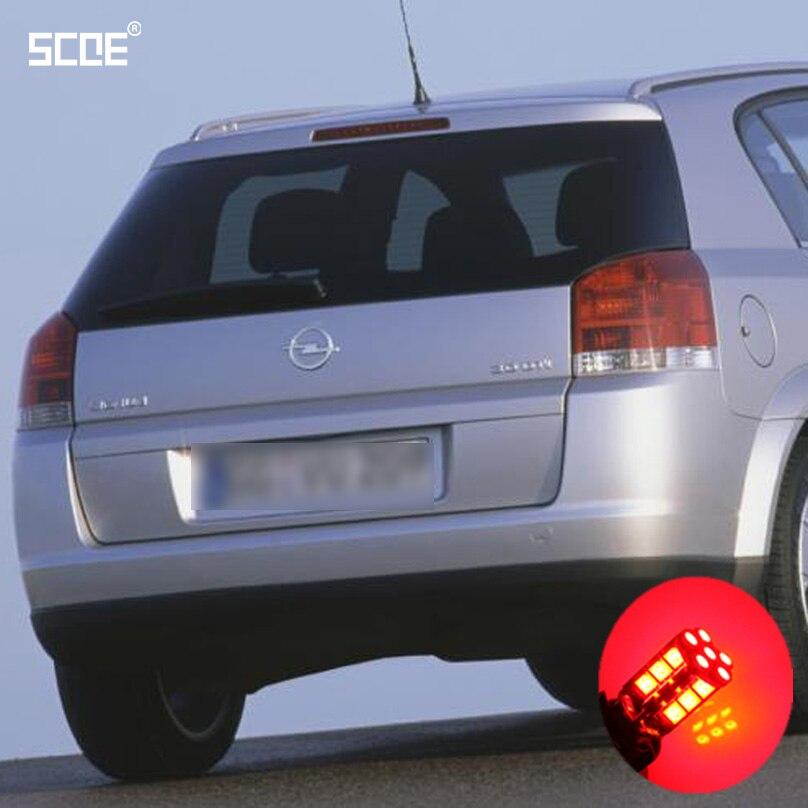 For Opel Signum Vectra C Zafira B (A05) Combo Box Meriva SCOE 2X30SMD LED Brake Stop Light Rear Parking Light Source Car Styling