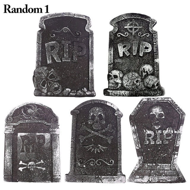 Mini Horrible Chost Grave Halloween Decoration Creative