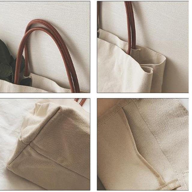 Canvas Totes Beach Bag Shoulder Bag 4