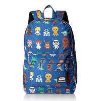 New Star Wars backpack bag Baby Character Aop Print Backpack Student Book bag Notebook backpack