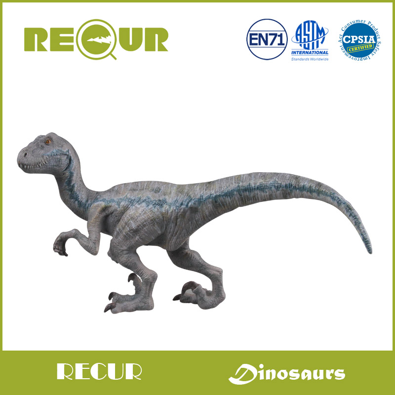 Recur Jurassic Dinosaur Velociraptor Model Collection Hand Painted PVC Animal Action Figures Soft Toys For Kids patrulla canina with shield brinquedos 6pcs set 6cm patrulha canina patrol puppy dog pvc action figures juguetes kids hot toys