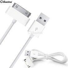 Olhveitra Cáp USB Sạc Nhanh Cho iPhone 4 4S 3GS 3G IPod Nano Ipad 2 3 Cáp USB sạc Cáp Chargeur Kabel Dây