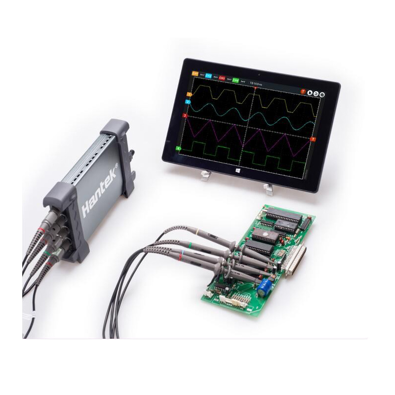 Hantek6254BD Oscilloscope 4 Channels 6254BD Arbitrary Waveform Generator 250MHz Bandwidth Powered By USB2.0 Interface hantek dso4202c digital storage oscilloscope 2ch 200mhz 1 channel arbitrary function waveform generator factorydirectsales