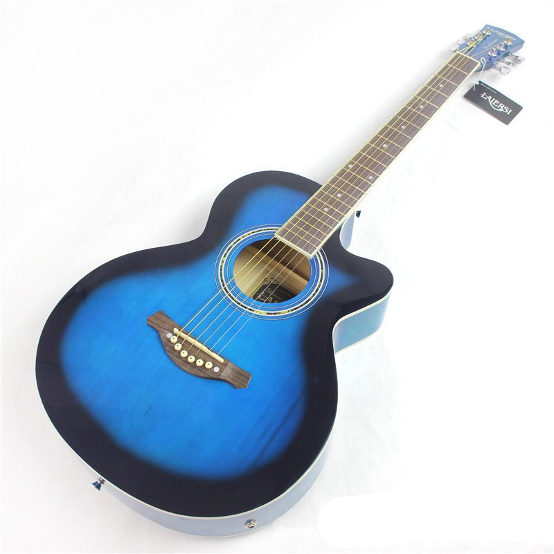 guitars 39-12 39 inch high quality Electric Acoustic Guitar Rosewood Fingerboard guitarra with guitar strings high quality custom shop lp jazz hollow body electric guitar vibrato system rosewood fingerboard mahogany body guitar