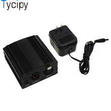 Tycipy Microphone Dedicated Power for Phantom Power Dedicated Capacitance Recording 48V Microphone Sound Card Mic Power supply(China)