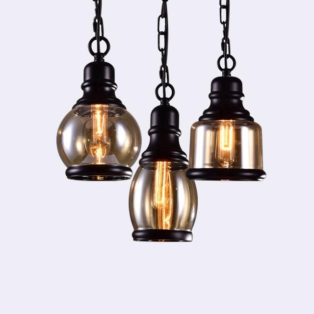 Loft Industriële Keten Hanglampen Vintage Edison Handlamp eetkamer ...