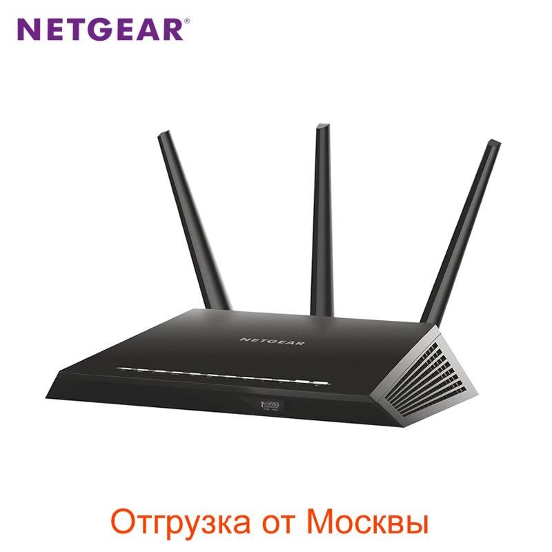 NETGEAR Nighthawk R6900 AC1900 Wireless Dual Band Gigabit WiFi Router 802.11ac USB3.0 Multi Language Firmware Smart App Control