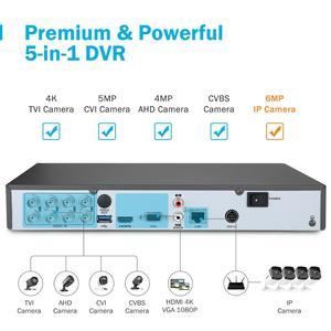 Image 3 - ANNKE 8CH 5MP לייט 5IN1 Ultra HD וידאו אבטחת מצלמה מערכת H.265 + עם 8PCS 5MP עמידה Bullet חיצוני ערכת מעקב