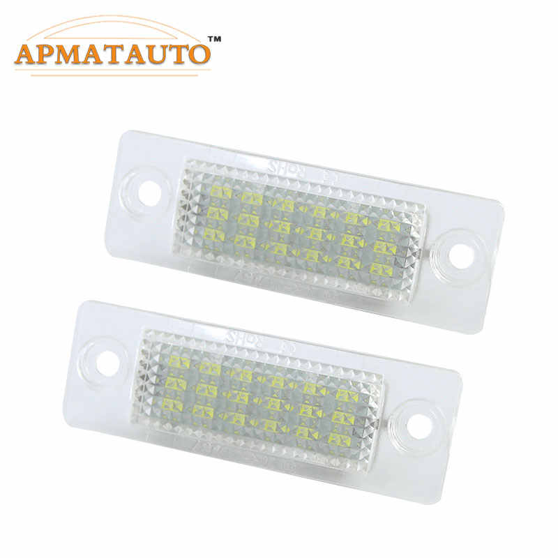Detail Feedback Questions about 2pcs LED License Plate Light Bulb Canbus  For VW Touran Passat Cimousint B5.5 SKODA Superb 1 3U B5 White Number Plate  lamp on ... d6e0118cdba9