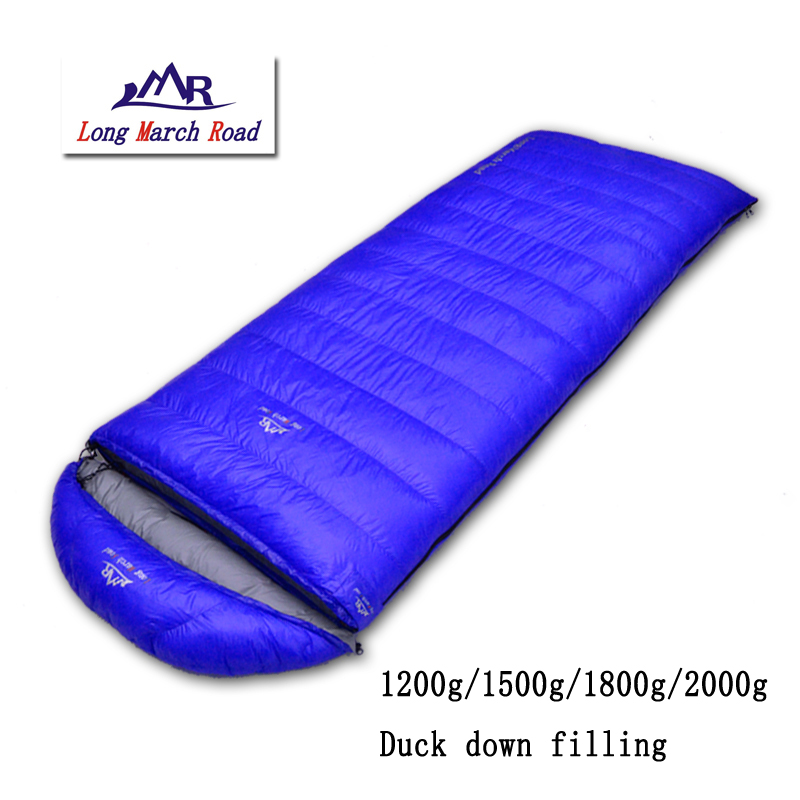 LMR ultralight falling 1200g/1500g/1800g/2000g duck down can be spliced envelope camping sleeping bag kingcamp favourer 450mix envelope 32 degree f 0 degree c down spliced micro fiber sleeping bag with hood for camping
