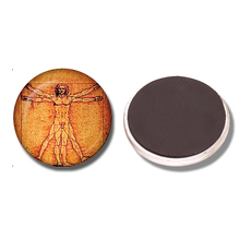 Vitruvian Man Fridge Magnet