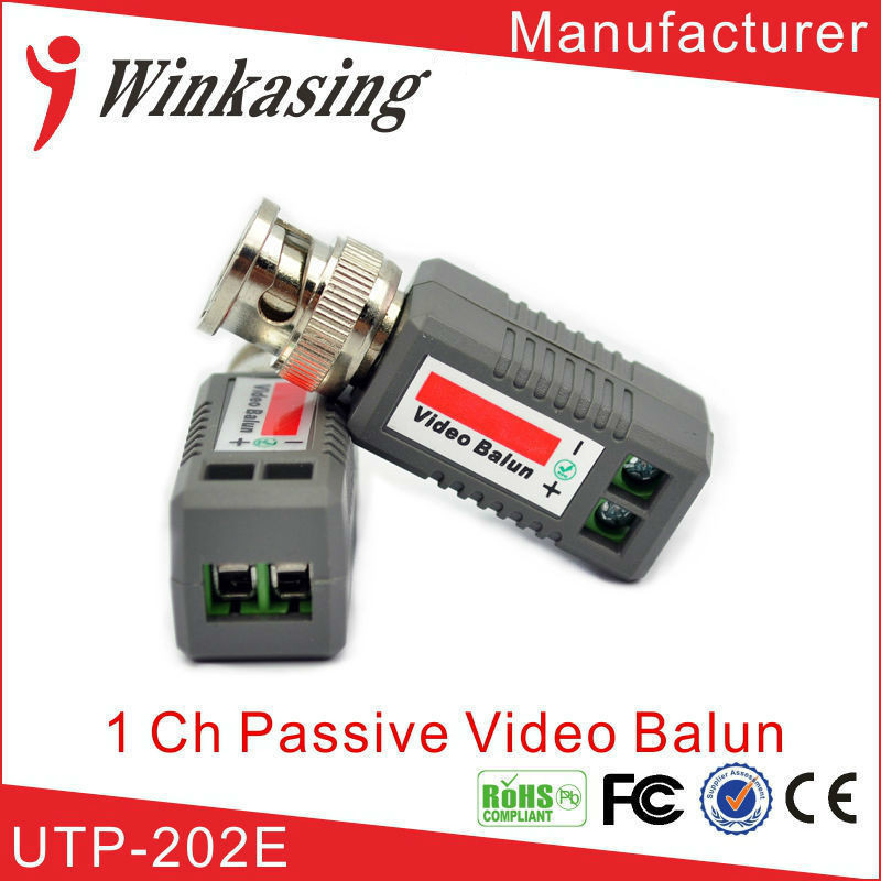10ps/ 5pairs  CCTV  UTP TWISTED PAIR TRANSMITTER PASSIRE VIDEO BALUN  FOR CAMERA DVR