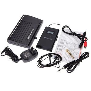 Image 5 - Hot Takstar WPM 200 UHF Wireless Monitor System 50m Transmissie Afstand In Ear Stereo Hoofdtelefoon Headset Zender Ontvanger