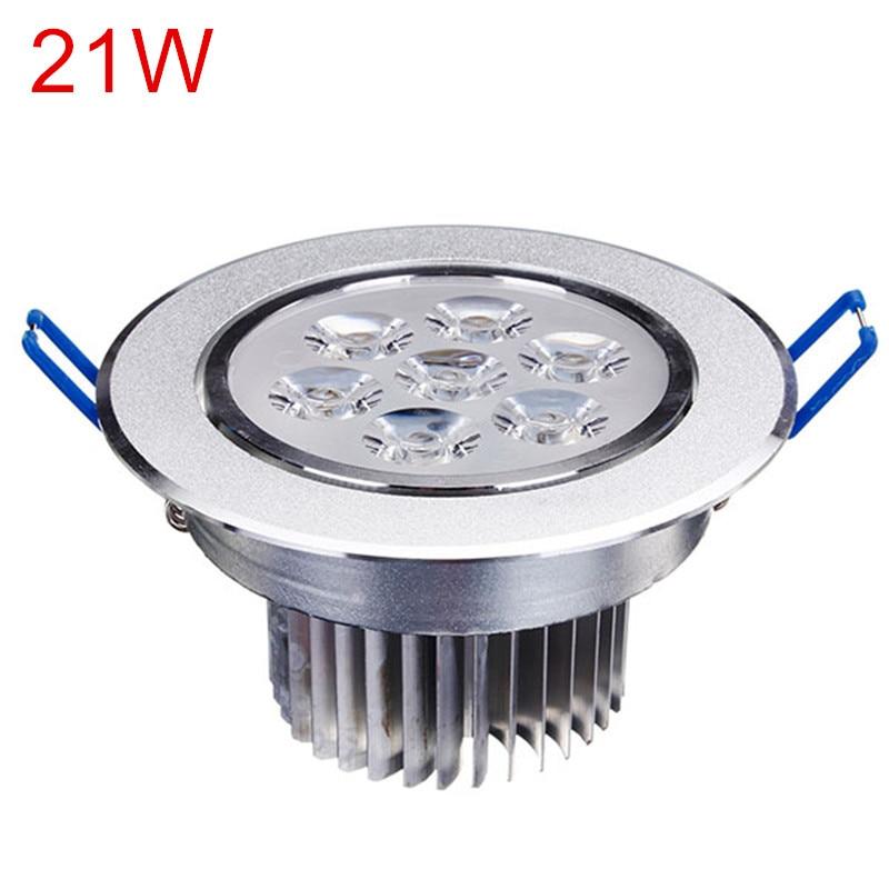 New 9W 15W 21W good quality lowest price led downlight lighting lamp AC110V-240V led cabinet light LED Ceiling Panel light