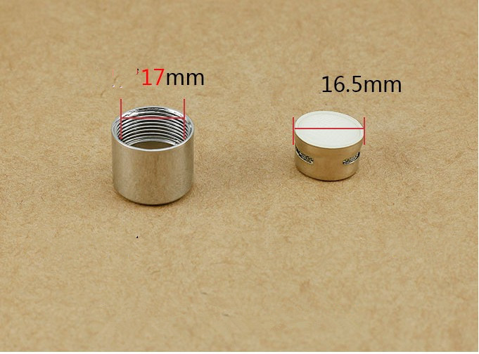 2PCS 17mm Internal Thread Copper Swater Saving Aerator M18 AERATOR