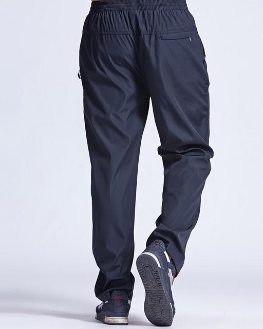 Grandwish Men Winter Sweatpants Warm Fleece Thick Pants Mens Loose Elastic Waist Pants Casual Pants Trousers With Pockets,DA897 3