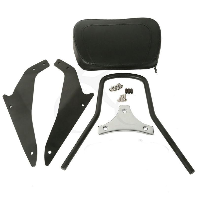Black Detachable Sissy Bar Backrest For Suzuki Boulevard M109R Models 2006-2017 M109R2 Motorcycle Accessories