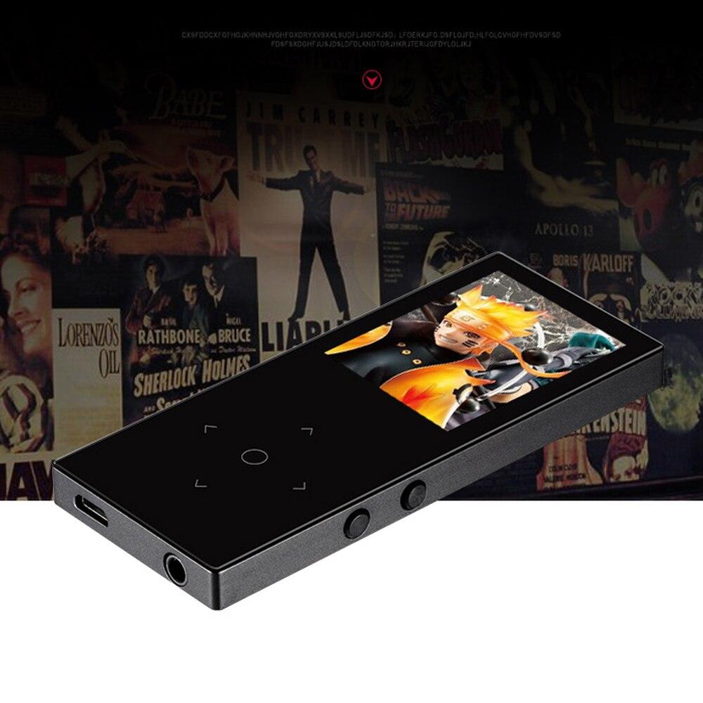2018 new mini metal body movement MP4 player Bluetooth 8G original BENJIE K8 download portable music 1.8 inch MP4 music player