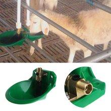 Автоматическая чаша для воды овцы медная пластиковая поилка