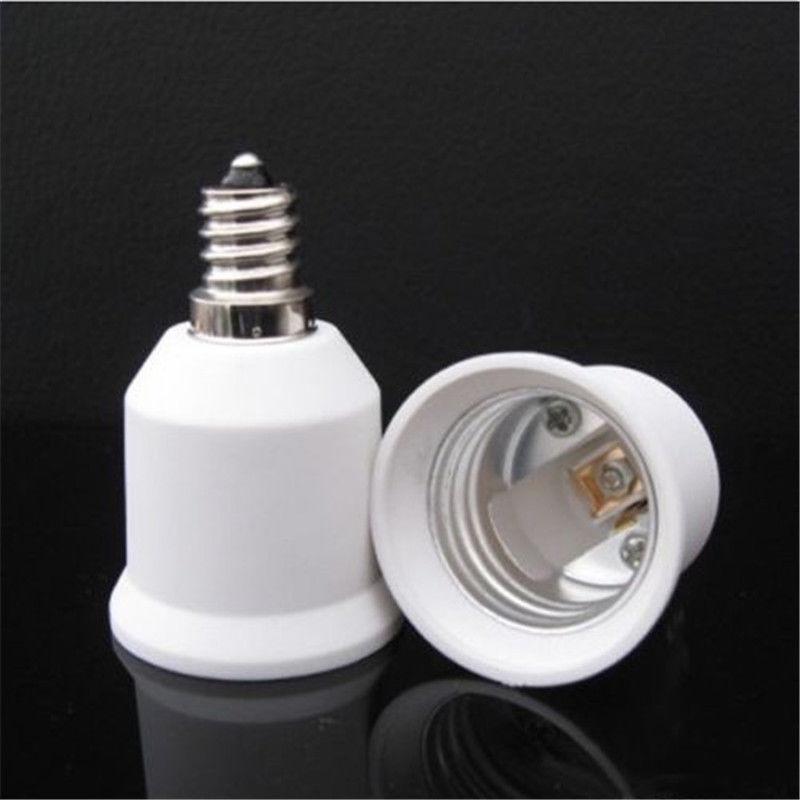 1X Fine White E12 To E27 Base LED Light Bulb Lamp Adapter Converter Screw Socket букет из гортензии 31 или 61