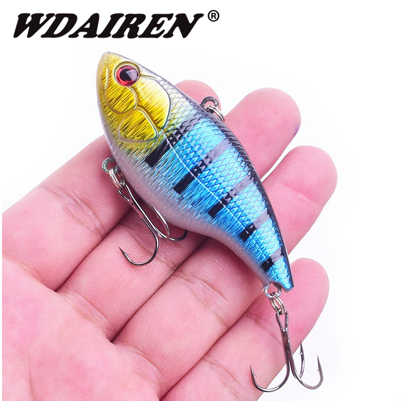 1Pcs Sinking VIB vibration ice fishing Wobblers Lure 7.5cm 18g winter hard bait Crankbait carp leurre pesca fishing Tackle smart sinking vibration fishing lure 8cm 17 2g plastic vib bait isca artificial pesca peche leurre dur winter ice fishing tackle