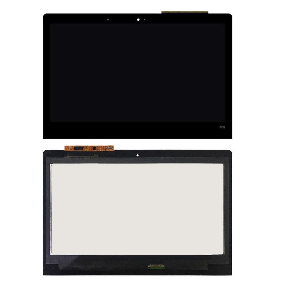 For Lenovo Yoga 900 13ISK2 4 PRO 3200x1800 LCD Touch Screen Assembly Frame Black digitized bezel