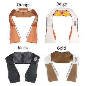 Image 5 - Dropshipping elektrische shiatsu massager neck massage gerät elektrische zurück schulter gürtel massagen körper maschine