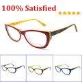 Горячая дизайнерский бренд кошка очки мода женщины красный óculos де грау высокое качество очки аксессуары кадр B041201