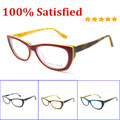hot brand designer cat eyeglasses fashion women red oculos de grau high quality eyewear accessories frame B041201