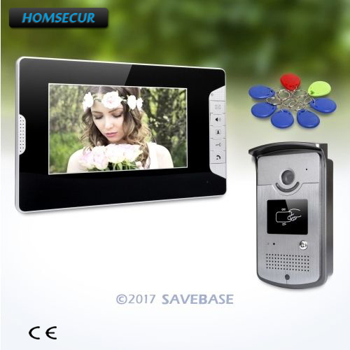 HOMSECUR 7 Video Security Door Phone with Mute Mode for Home Security for House/ FlatHOMSECUR 7 Video Security Door Phone with Mute Mode for Home Security for House/ Flat