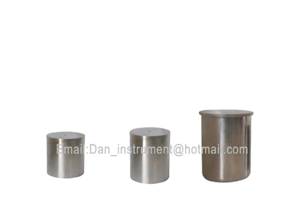 wholesale Stainless steel  paint coating densitometer .pycnometer,Specific Gravity Cup lab testing stainless steel density cup 50ml capacity specific gravity cup