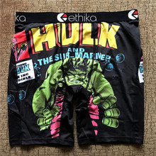 Ethika mens underwear boxers Breathable cueca boxer male Long Boxers print shorts for men and women man underware Bodysuit