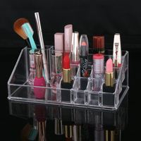 New Lady cosmetics storage box / acrylic jewelry box lipstick display stand household items
