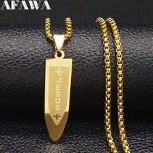 2021 mode longue en acier inoxydable collier ras du cou pour hommes couleur or jésus balle colliers bijoux cadenas para hombre N1164S02