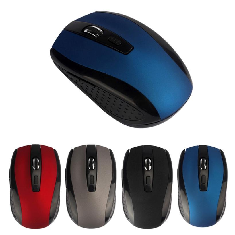 Best Price Adjustable 1600DPI 2.4G Optical Wireless Mouse Mice For Laptop PC