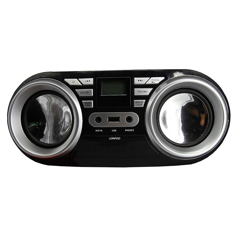 LONPOO Նոր CD բարձրախոս Mini Mini դյուրակիր - Դյուրակիր աուդիո և վիդեո - Լուսանկար 4