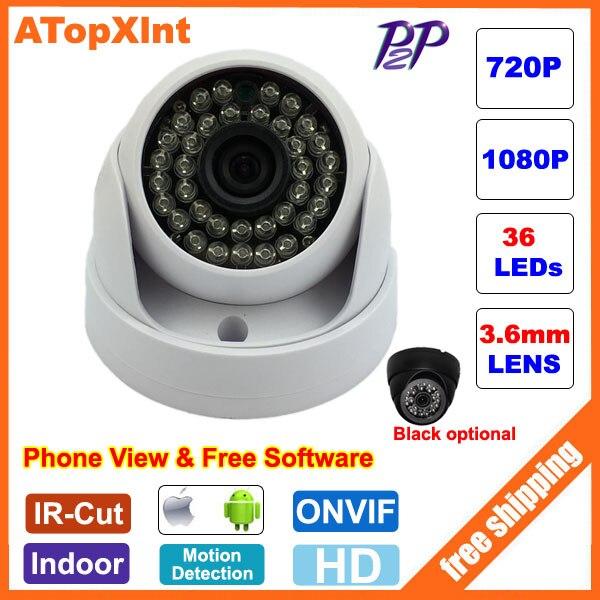 bilder für HD Ip-kamera 720 P 1080 P Surveillance Innenhaube-ip-kamera Cam 2MP CCTV IP Überwachungskamera Netzwerk Onvif 2,0 P2P XMEye Android iPhone Anzeigen