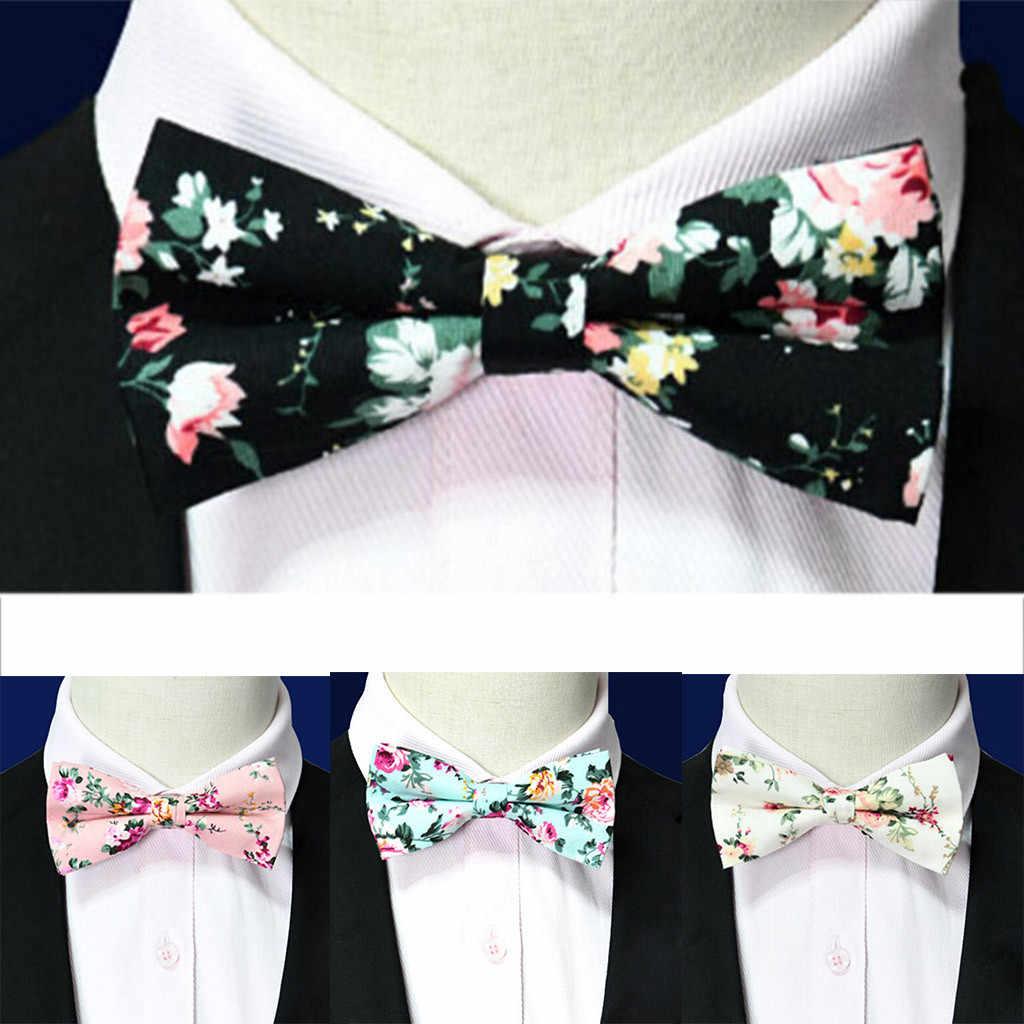 Koreańska wersja regulowana moda męska formalne ślubne Bowtie nowość Tuxedo krawat muszka letnie gorąca sprzedaż 2019 W711