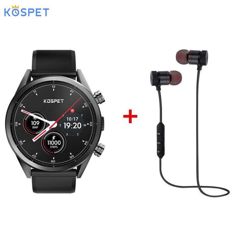 Kospet Hope 4G Smartwatch téléphone 1.39 pouces Android 7.1 MTK6739 Quad Core 1.3GHz 1GB RAM 16GB ROM 8.0MP caméra 620mAh intégré