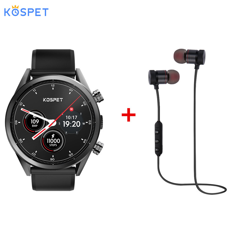 Kospet espero 4G Smartwatch teléfono 1,39 pulgadas Android 7,1 MTK6739 Quad Core 1,3 GHz 1GB RAM 16GB ROM 8.0MP 620mAh cámara incorporada