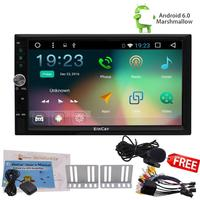 4-CORE Android 6.0 2 Din Car Stereo Radio GPS OBD2 Touch Screen NO DVD Car styling cassette tape recorder In Center console