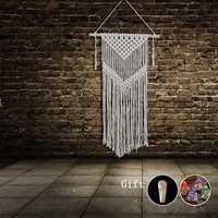 Handmade Knitted Tapestry Macrame Mandala Tapestry Wall Decor For Hallway,Corridor Sofa Bed Background tapestry Hangings Tapiz