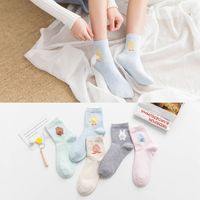 Cotton Socks Lovely Three Dimensional Cartoon Japanese Socks Ms Tube Socks Autumn And Winter New Cotton
