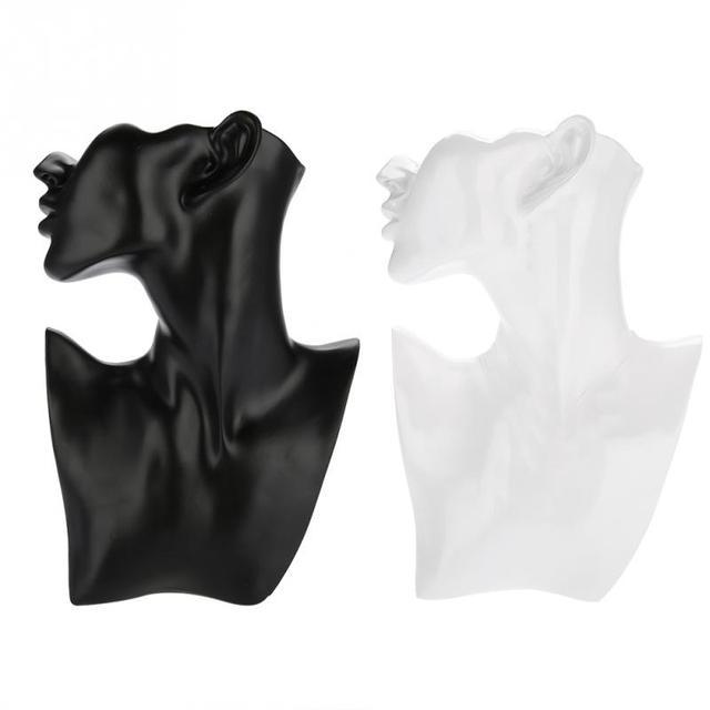 Mannequin ראש Stand שרשרת עגיל מחזיק Mannequin ראש חזה Stand דגם Stand תכשיטי תצוגת עגיל תצוגת עובש