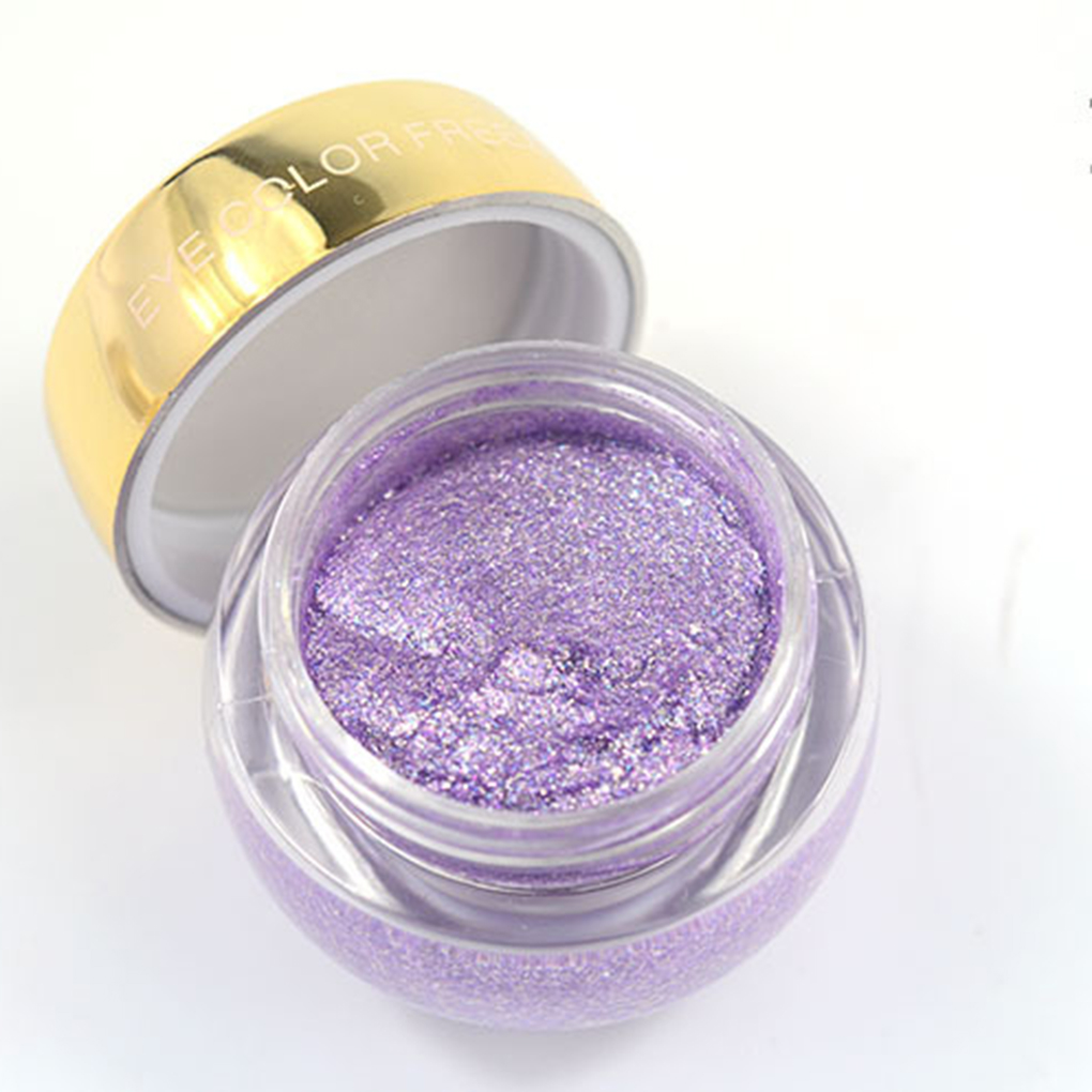 Beauty Essentials Aigomc Metallic Eyeshadow Cream Waterproof Long Lasting Gold Blue White Shimmer Eyeshadow Highlighter Smoky Eyeshadow Hf086