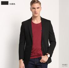 Formal occasions men's suit jacket quality wedding the groom's best man black coat simple business casual men's coat
