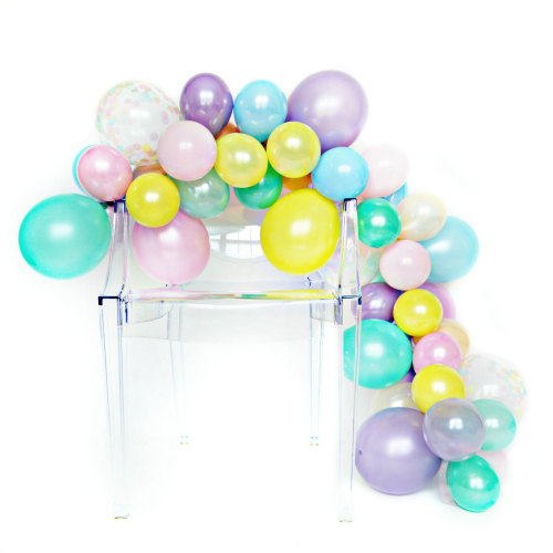 DIY Ballon Guirlande Kit-Licorne Arc-En-60 pcs ballons mixte 5