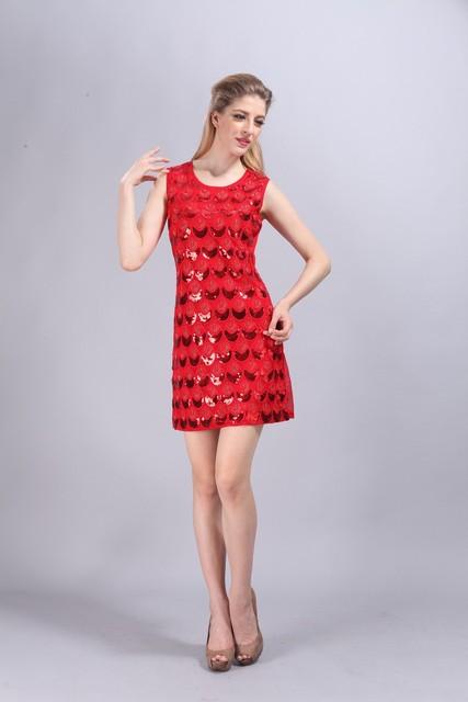 Sequin Teardrop Gatsby Charleston Dress