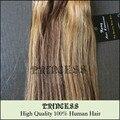 """Novo indiano 15 """" - 28 """" Remy mulheres extensões de cabelo humano 70 g 100 g 140 g Mixed # 4/27"""